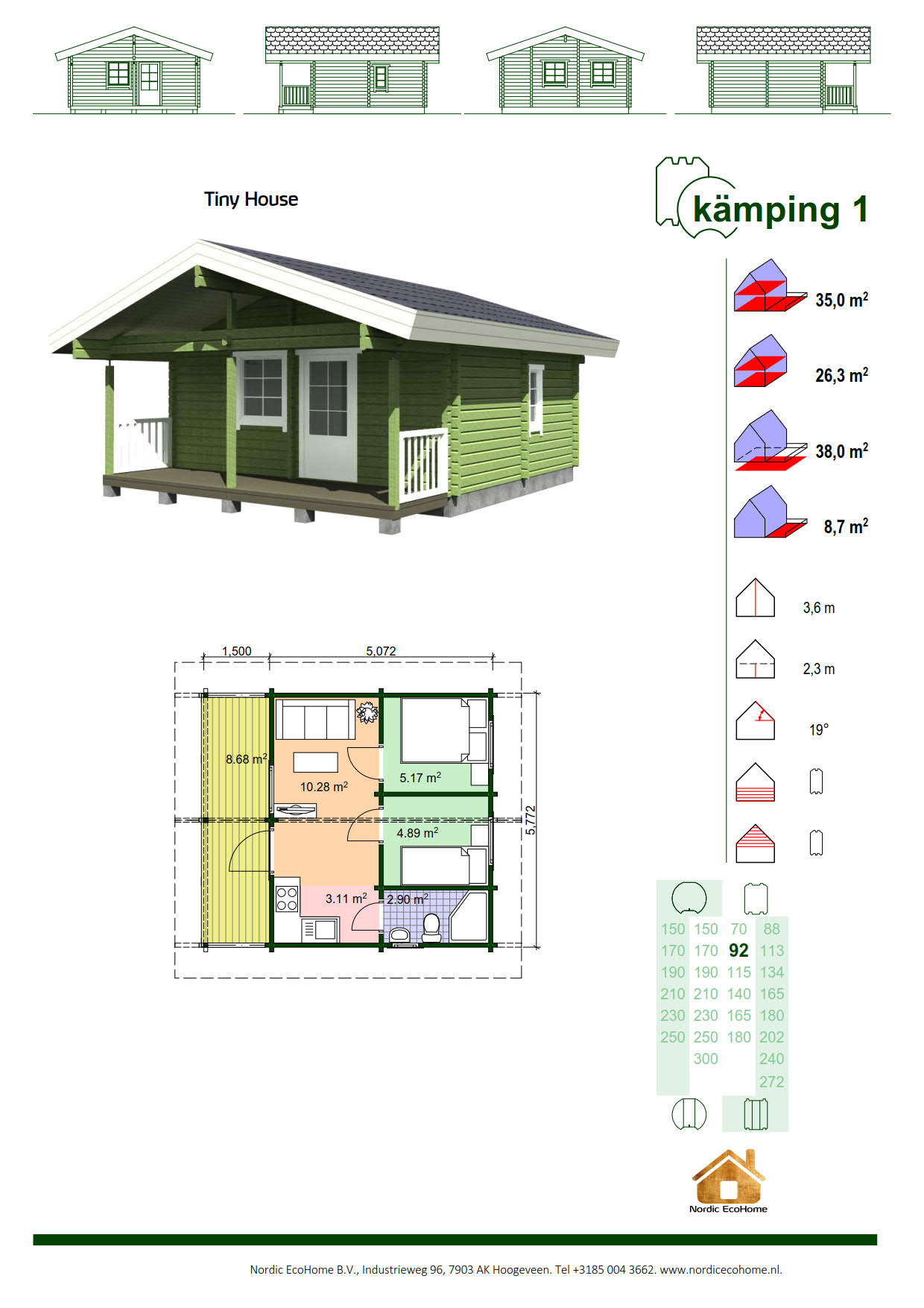 Nordic EcoHome KAMPING1
