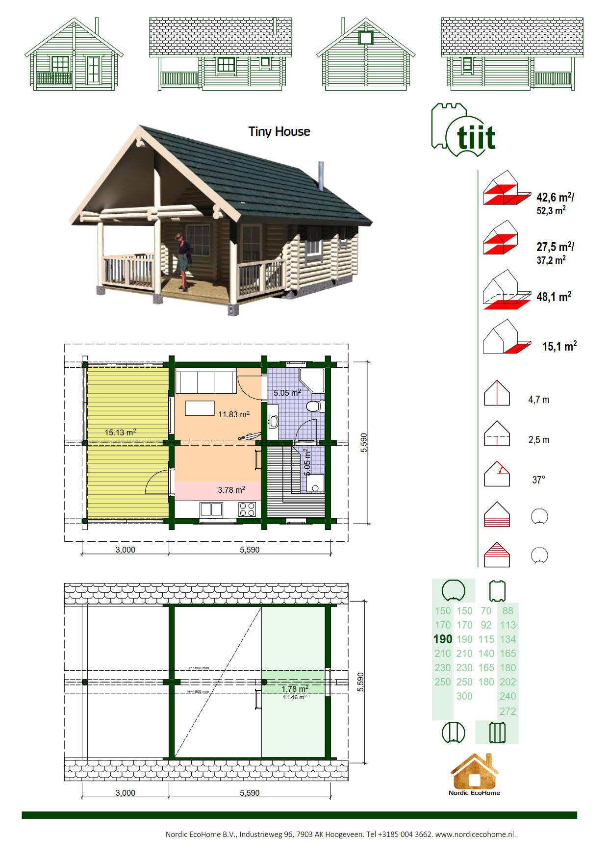 Nordic EcoHome TIIT