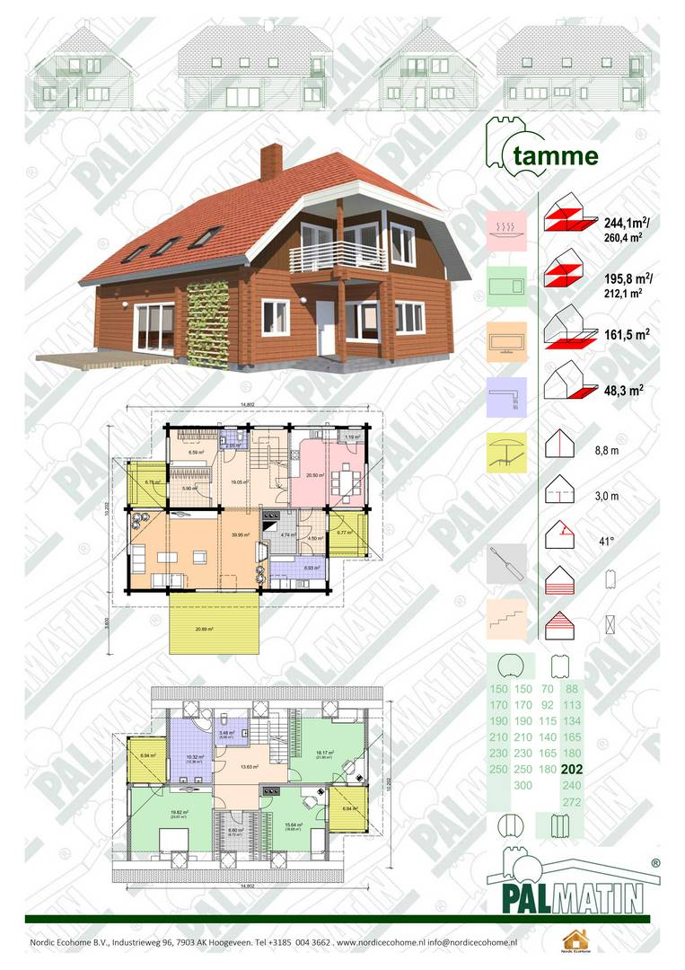 Nordic EcoHome Tamme
